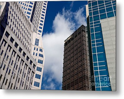 Pittsburgh Skyscrapers Metal Print by Amy Cicconi