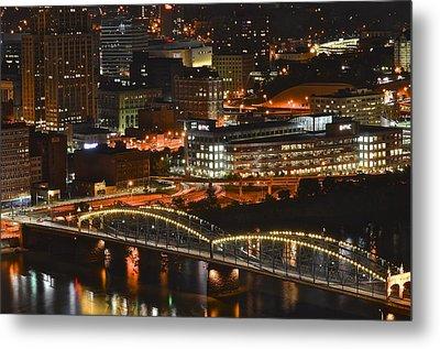 Pittsburgh Up Close Metal Print