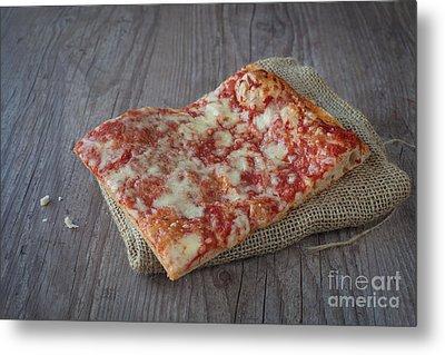 Pizza Slice Metal Print by Sabino Parente