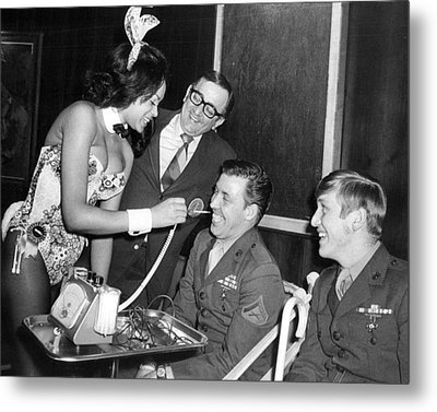 Playboy Metal Print by Retro Images Archive