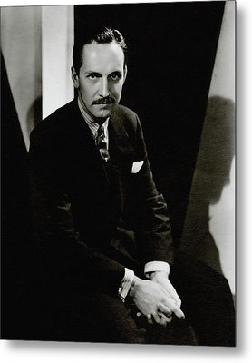 Portrait Of Actor Frederick March Metal Print