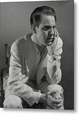 Portrait Of Actor Louis Hayward Metal Print