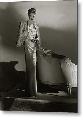 Portrait Of Barbara Cushing Metal Print by Horst P. Horst