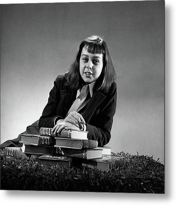 Portrait Of Carson Mccullers Metal Print by John Rawlings