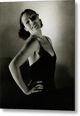 Portrait Of Dolores Del Rio Metal Print