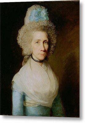 Portrait Of Elizabeth Caldwell Metal Print by Gilbert Stuart