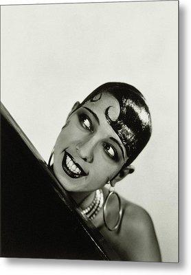 Portrait Of Josephine Baker Metal Print by George Hoyningen-Huene