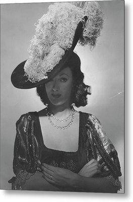 Portrait Of Kathleen Winsor Metal Print