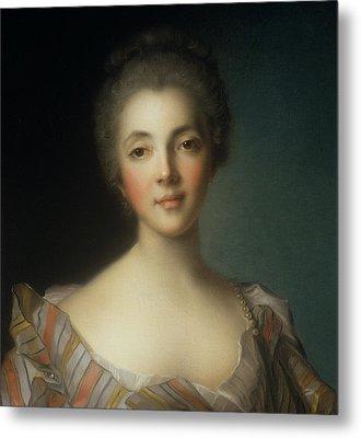 Portrait Of Madame Dupin Metal Print