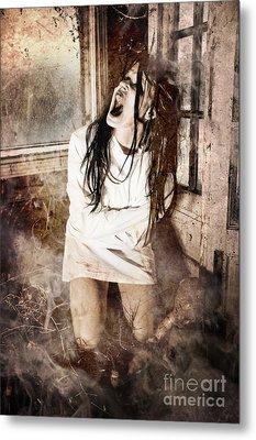 Possessed Metal Print by Jt PhotoDesign