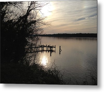 Metal Print featuring the photograph Potomac Reflective by Charles Kraus