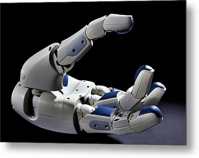 Pr2 Robot Hand Metal Print