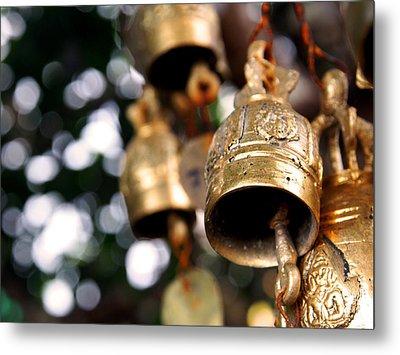 Prayer Bells Metal Print by Kaleidoscopik Photography