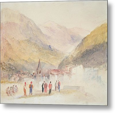 Pre St Didier, 1836 Metal Print by Joseph Mallord William Turner
