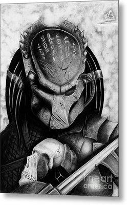 Predator Metal Print by Christopher Spring