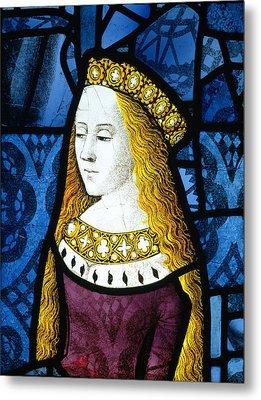 Princess Cecily C.1485 Metal Print