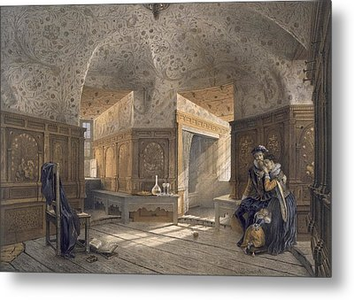 Prison Of King Erik Xiv, Son Of Gustav I Metal Print