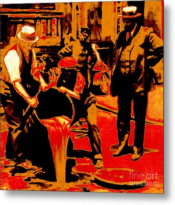 Prohibition 20130218 Metal Print by Wingsdomain Art and Photography