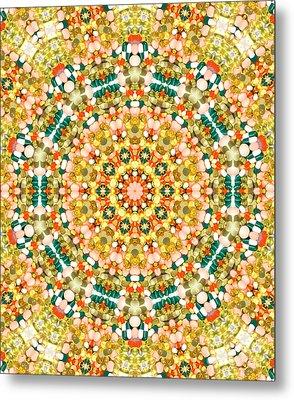 Psychedelic Pattern Metal Print by Jose Elias - Sofia Pereira