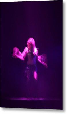 Purple Dancer Metal Print by Brad Scott