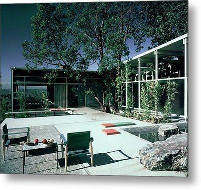 Putnam Home In Bellevue Metal Print by Dearborn-Massar