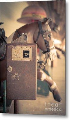 Quarter Horse Metal Print by Edward Fielding