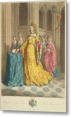 Queen Margaret Of Anjou Metal Print by British Library