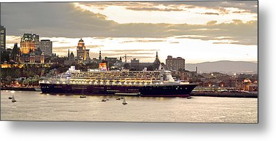 Queen Mary II Cruise Ship, Chateau Metal Print by Jean Desy