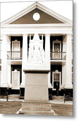 Queen Victoria Monument, Victoria, Queen Of Great Britain Metal Print