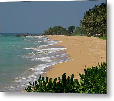 Quiet Beach Along A2 Road, Betota Metal Print by Panoramic Images
