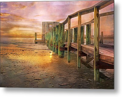 Quiet Colors Metal Print by Betsy Knapp