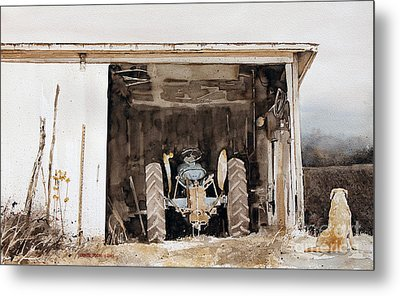 Quitting Time Metal Print by Monte Toon