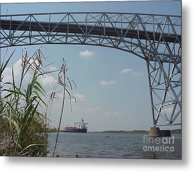 Rainbow Bridge 1 Metal Print by D Wallace