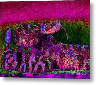 Rattlesnake 20130204m80 Metal Print