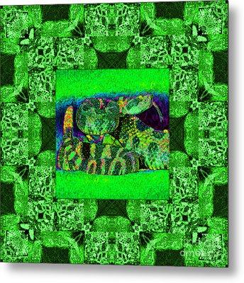 Rattlesnake Abstract Window 20130204p75 Metal Print