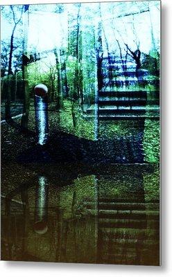 Raumland 01 Metal Print by Gertrude Scheffler