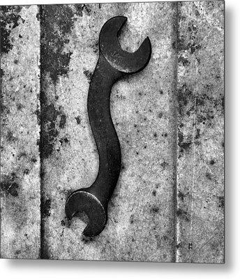 Raw Steel 2...curvatures Metal Print by Tom Druin