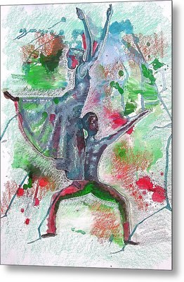 Reaching For New Heights Metal Print by Lamario Chez Jackson