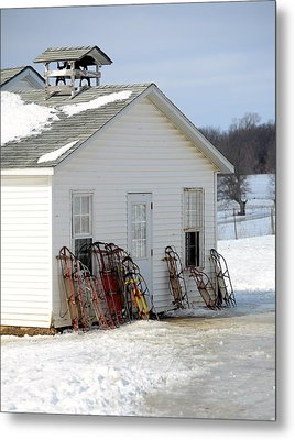 Metal Print featuring the photograph Ready To Ride by Linda Mishler