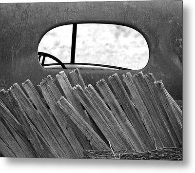 Rear View Metal Print by Tom DiFrancesca