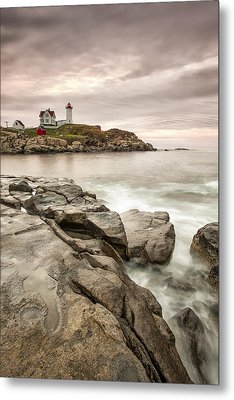 Red Light Metal Print by Jon Glaser