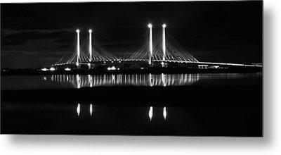 Reflecting Bridge Metal Print by William Bartholomew