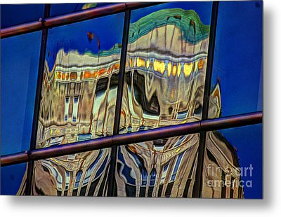 Reflection 12 Metal Print by Jim Wright