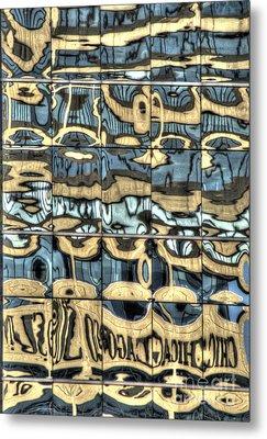 Reflection 9 Metal Print by Jim Wright