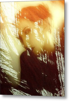 Reflection Metal Print by Gun Legler
