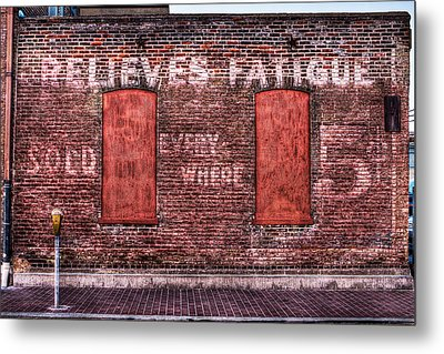 Relieves Fatigue  Metal Print by Robert  FERD Frank