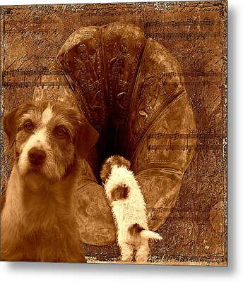 Remembering His Masters Voice Metal Print by Veronica Ventress