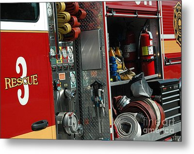 Rescue 3 Metal Print by Steven Townsend