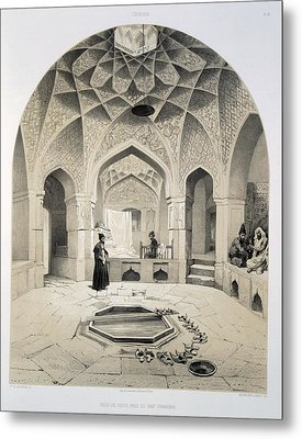 Rest Room Beside The Baths At Shemakha Metal Print