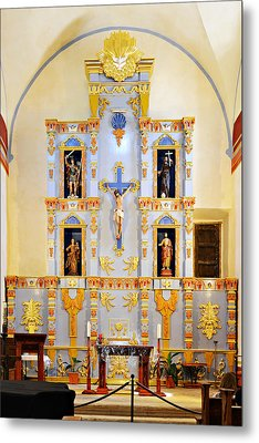 Retablo Mission San Jose Metal Print by Christine Till